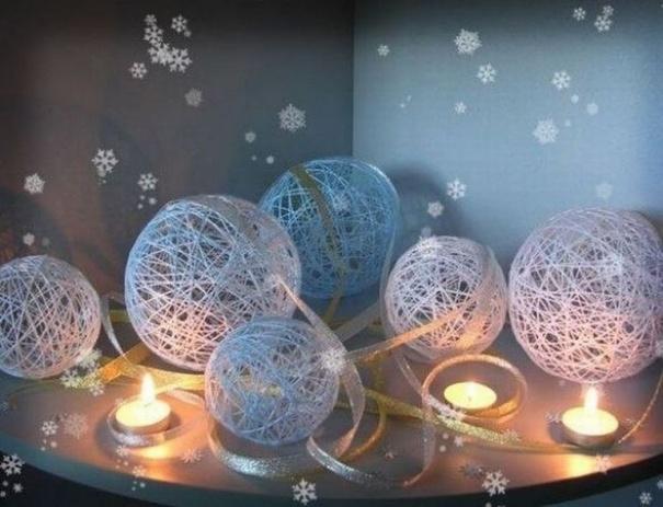 Ідеї новорічного декору. Прикраси на ялинку