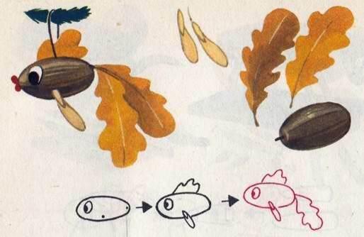 Вироби з жолудів