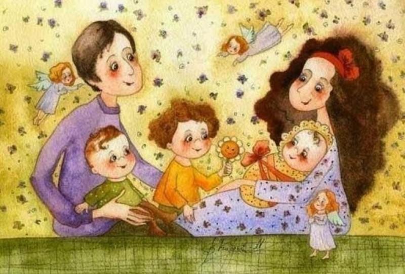 Сценарій свята - Родина, родина, від батька до сина