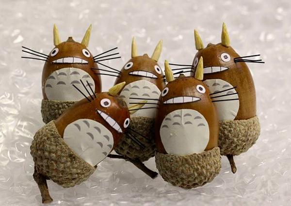 Вироби з жолудів - саморобки для дітей