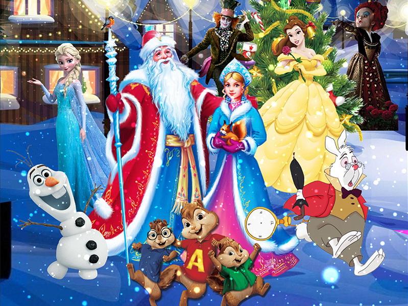 Сценарій свята «Карнавальна ніч» новорічний ранок для старшої групи