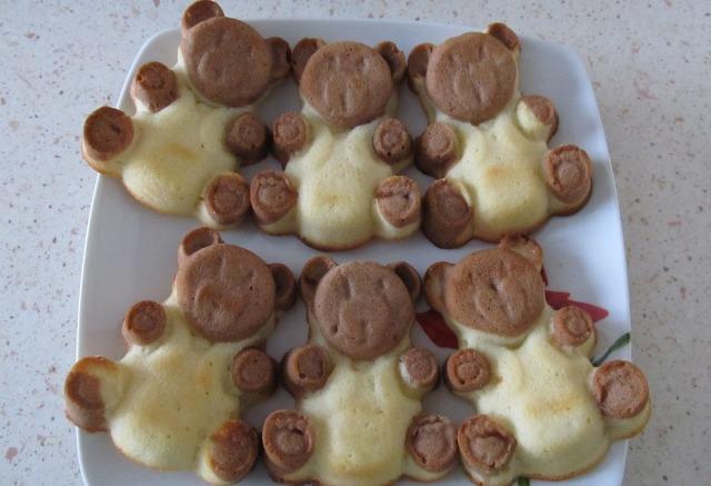 Мишки формочке рецепт фото