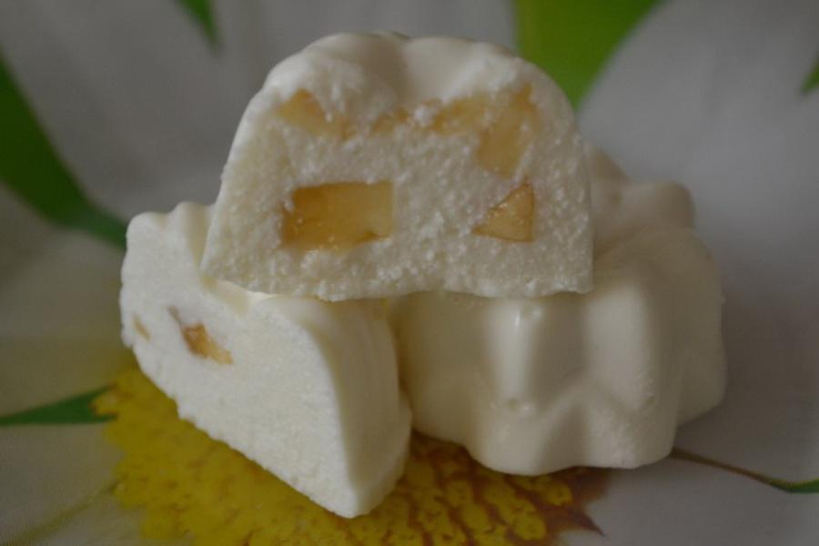 Бланманже сирно-бананове на сніданок для дітей