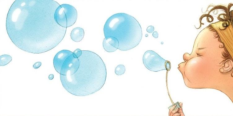 Мильні бульбашки в домашніх умовах - для дитячого свята або просто так
