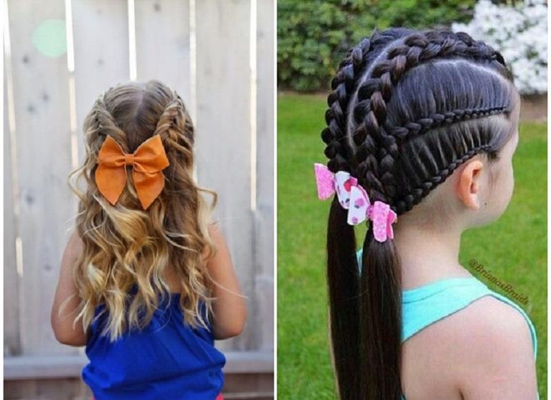 Зачіски для дівчинки у школу