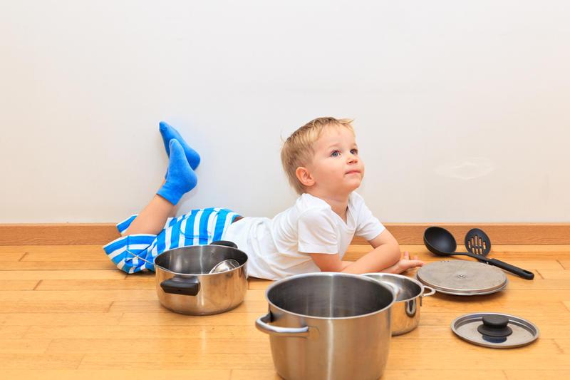 Чим зайняти дитину на кухні