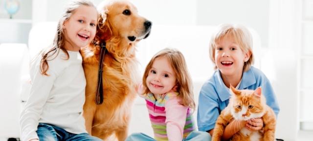 Роль домашніх тварин у житті дітей