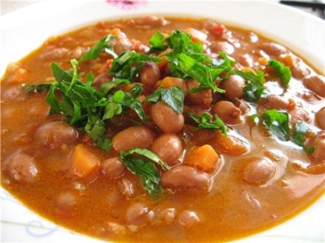Квасолевий суп для дітей