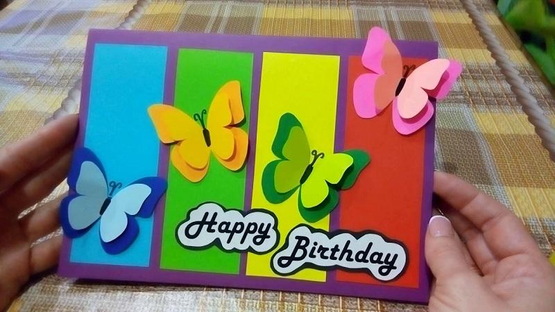Листівки з днем народження власними руками