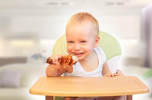 М'ясо в раціоні дитини