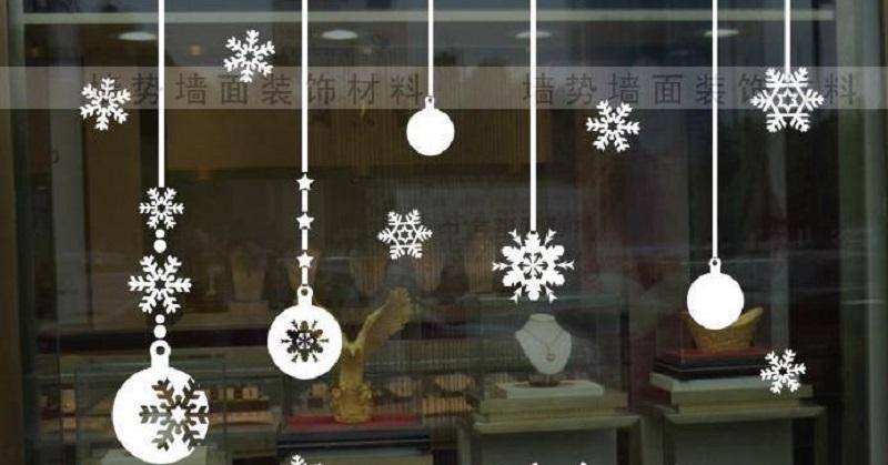 Новорічні витинанки на вікно для найменших дітей - шаблони