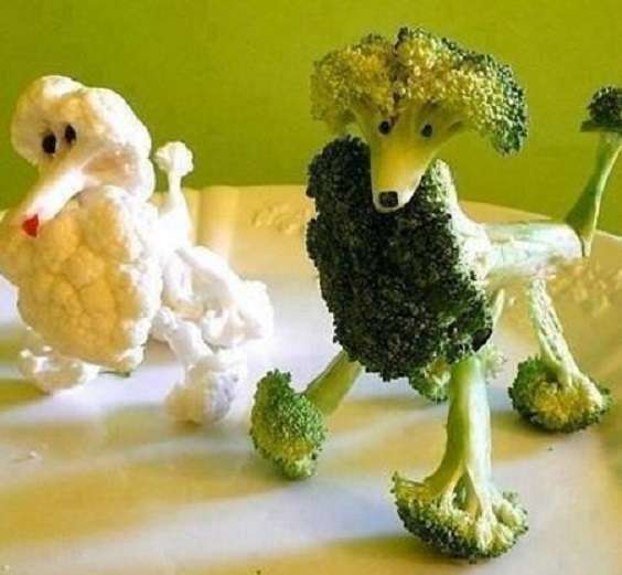 Осінні поробки з сезонних овочів та фруктів для дітей