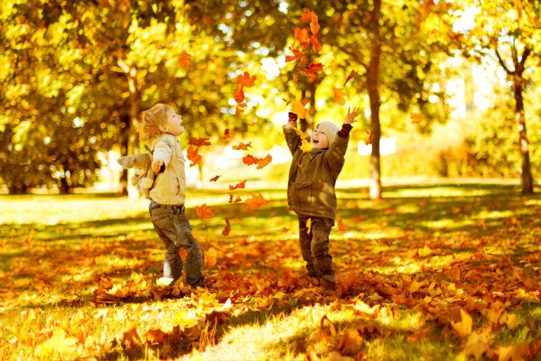 Вірші про осінь для наймолодших