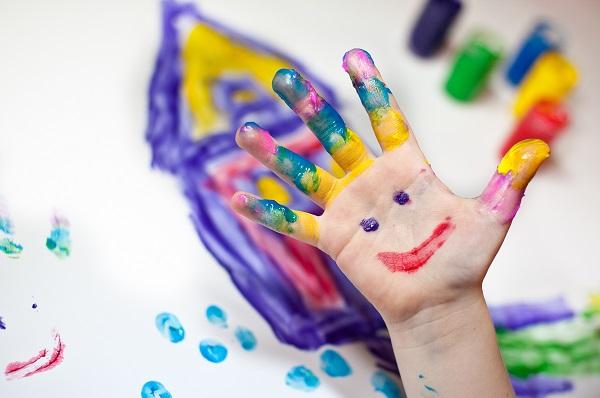 Пальчикові фарби - готуємо вдома