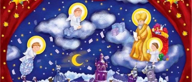 Підбірка дитячих пісень до свята Святого Миколая