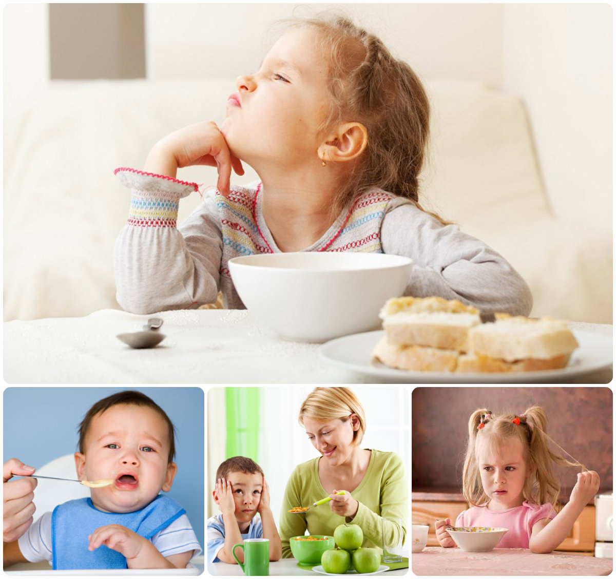 Поганий апетит або особливості характеру дитини
