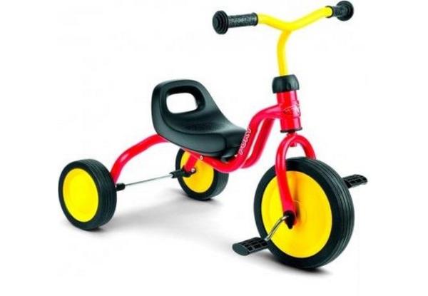 Триколісний велосипед: корисна та практична забавка