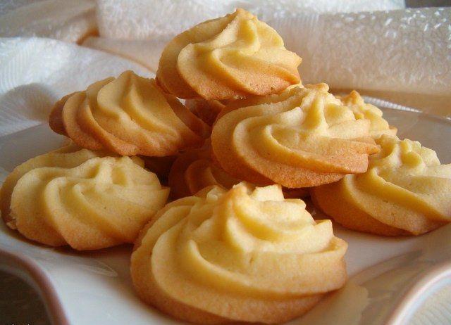 Пісочне печиво на жовтках