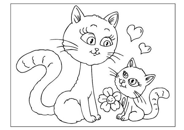 Розмальовки до Дня матері