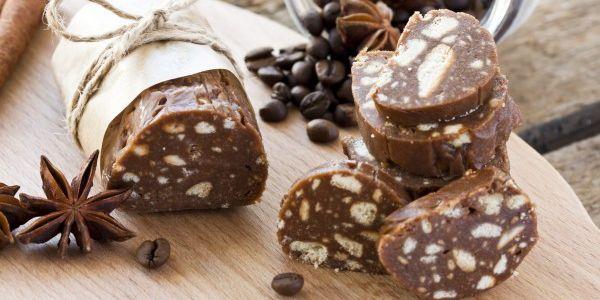 Шоколадна ковбаска. Два рецепти: традиційний і не дуже