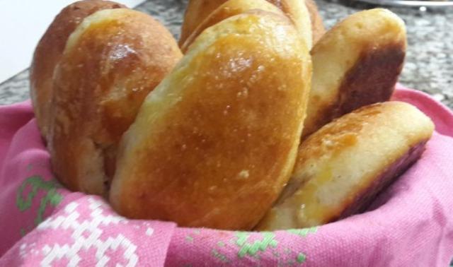Швидкі пиріжки з яблуками (без дріжджів)
