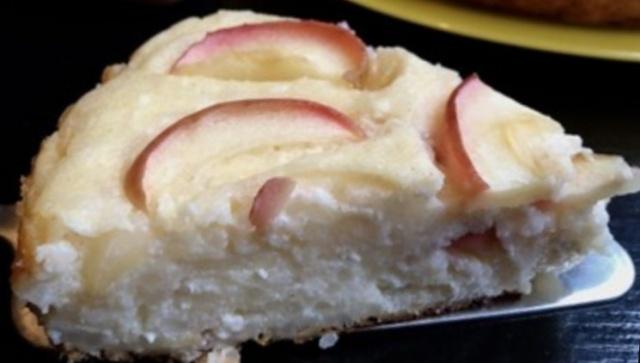 Сирна запіканка з рисом і яблуками в мультиварці