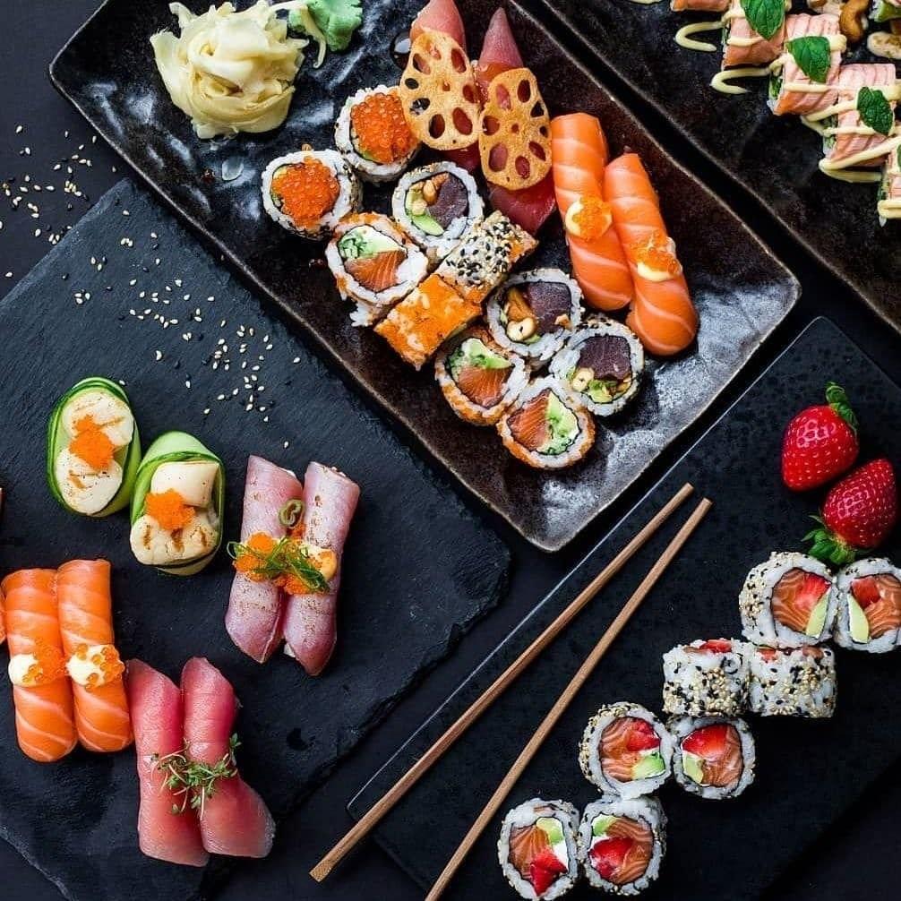 Где заказать суши в Киеве с доставкой на дом или офис?