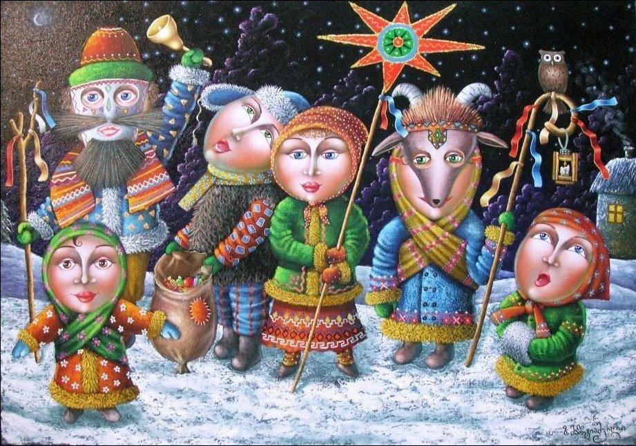 Українські щедрівки (слова та мелодії)