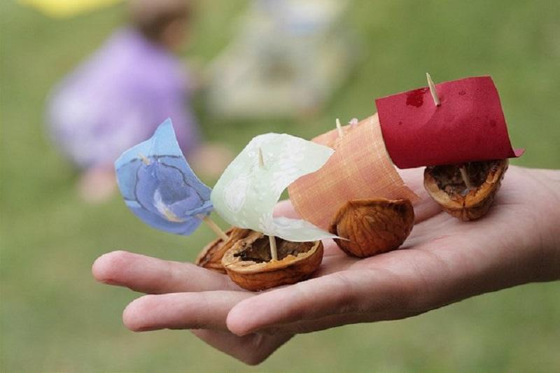 Вироби з горіхів для дітей. 30 ідей