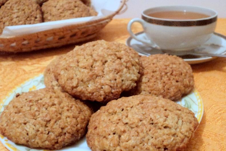 Вівсяне печиво для дітей