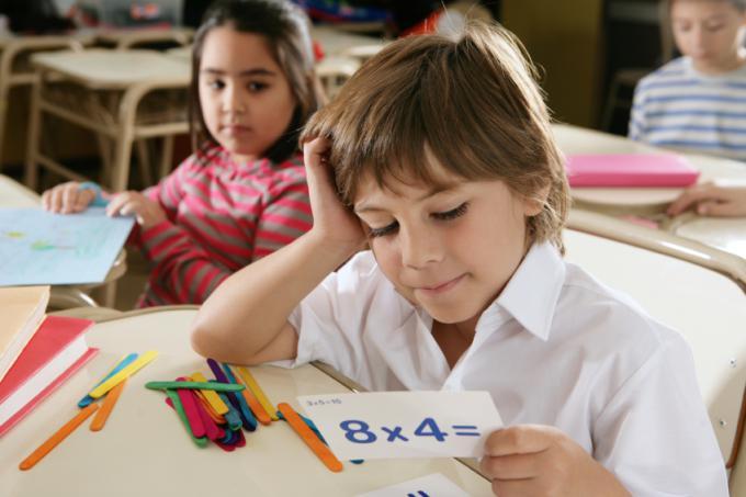Як вивчити таблицю множення без проблем
