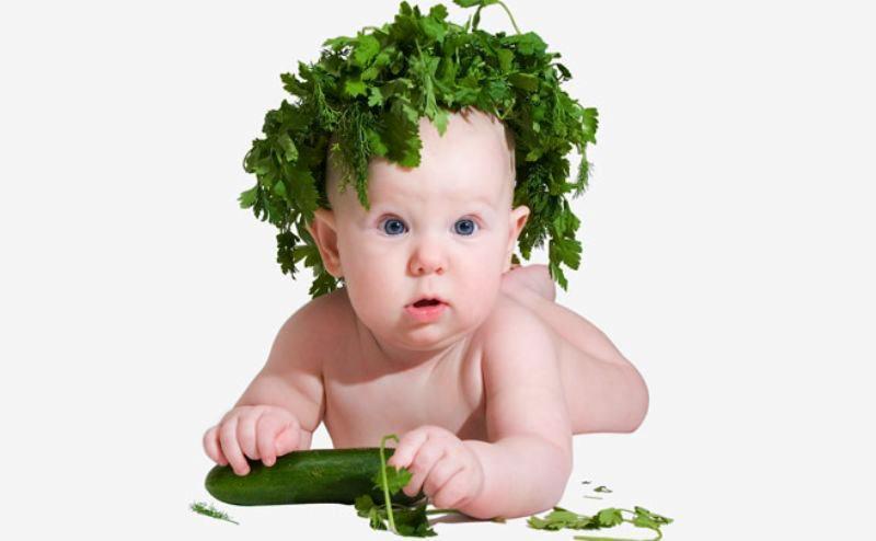 Корисна зелень для дітей. Частина 1