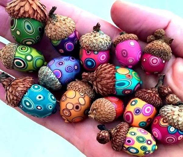Вироби з жолудів для дітей. 30 ідей
